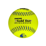 Worth Protac Official USSSA Men'S Super Gold Dot Slowpitch Softball-30cm - 1 Dozen