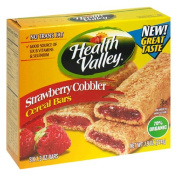 Heath Valley Natural Foods 30995 Organic Strawberry Cobbler Cereal Bar