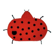 Kidorable Kidorable ladybug towel small Small Ladybug Towel with Hood and Pocket