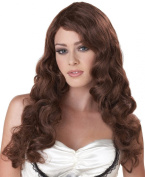 California Costumes Passion - Brunette - Adult Wig