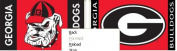 Bsi Products 92107 2-Sided 0.9m x 1.5m Flag W/Grommets - Georgia Bulldogs