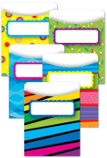 Creative Teaching Press Poppin' Patterns Library Pockets