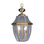 Livex 2255-01 Monterey Outdoor Light- Antique Brass