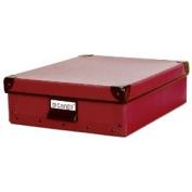 Resource International 8020721 Cargo Naturals Stationery Box - Red Spice