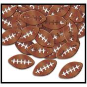 Beistle 50227 Fanci-Fetti Footballs - Pack of 12