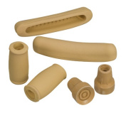 Mabis 512-1430-0000 Crutch Accessory Kit - Closed Grips- Underarm Pads and #50 Large Tips