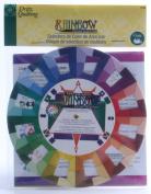 Dritz 86795 Dritz Quilting Rainbow Colour Selector-13cm .