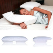 Living Healthy Products BSP-002-SM Small Better Sleep Pillow Cream Velour Cover