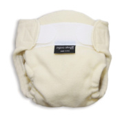 Organic Fine Melton Wool LITE Nappy Cover Small