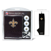 Team Golf 31820 New Orleans Saints Embroidered Towel Gift Set