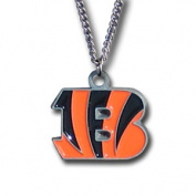 Officially Licenced NFL Team Chain Logo Necklace Cincinnati Bengals