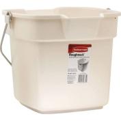 Rubbermaid Roughneck Bucket FG296400BISQU - Pack of 6