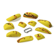 Nicros HHPD Pinches Building Blox Handholds - Yellow