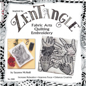 Design Originals 465983 Design Originals-Zentangle Fabric Arts
