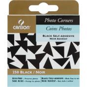 Photo Corners 250/Pkg-Black