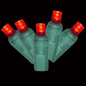 SIENNA PDC-RLED6 60lt Red LED Polka Dot Set
