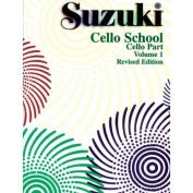 Alfred 00-0479S Suzuki Cello School Cello Part- Volume 1 - Music Book