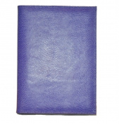 Budd Leather 550182L-17 Lizard Calf Pad Cover - Lilac