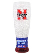 Duck House Nebraska Cornhuskers NCAA Crystal Pilsner Glass