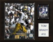 NCAA Football Tom Brady Michigan Wolverines Player Plaque