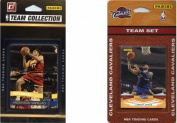 C & I Collectables CAVS2TS NBA Cleveland Cavaliers 2 Different Licenced Trading Card Team Sets