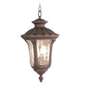 Livex 7658-58 Oxford Exterior Lantern- Imperial Bronze