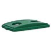 Genuine Joe GJO58558 Recycling Lid- Bottle- 11-.127cm .x21-.127cm .x2-.160cm .- Green