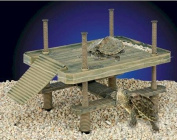 Penn Plax Reptology Life Science Floating Turtle-Pier Basking Platform