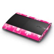 DecalGirl SPSS-RETROFLOWER-PNK DecalGirl Sony Playstation 3 Super Slim Skin - Retro Pink Flowers
