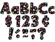 Teacher Created Resources 5349 Colourful Circles Funtastic 4 Letters Combo Pack