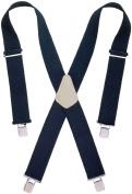Custom Leathercraft 2in. Wide Black Work Suspenders 110BLK