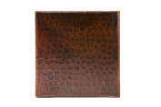 Premier Copper Products T6DBH Copper Hammered Tile