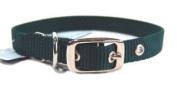 Hamilton Pet Company - Single Thick Nylon Dog Collar- Hunter Green .63 X 16 - ST 16DG