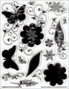 Hot Off The Press Acrylic Stamps 14cm x 18cm Sheet-Silhouettes & Shadows