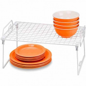 Honey-Can-Do Organisation & Storage 46cm . x 30cm . Steel Cabinet Shelf (Set of 2) White KCHZ01868