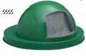 Witt Industries 5555GN Dome top drum lid- green