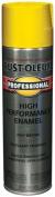 Rustoleum 7543-838 440ml Safety Yellow Professional High Performance Enamel Spra - Pack of 6