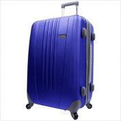 Travelers Choice TC3300N25 25 in. Toronto Expandable Hardside Spinner Luggage in Navy