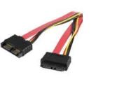 Startech.Com SLSATA20EXT 20In Slimline Sata Extension Cable - M-F