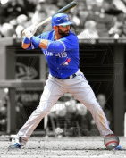 Photofile PFSAAOV13001 Jose Bautista 2012 Spotlight Action Photo Print -8.00 x 10.00