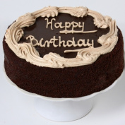 Davids Cookies 31002 Chocolate Fudge Birthday Cake 10