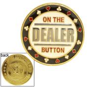 Poker 10-95DEALER On the Dealer Card Guard