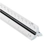 Alvin 247P 30cm Metric Triangular Plastic Scale