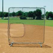 Collegiate Pacific BS47750NET Replacement 2.1m x 2.1m Slip-On Net-Softball