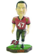 Caseys Distributing 8132909906 Tampa Bay Buccaneers John Lynch Game Worn Forever Collectibles Bobble Head