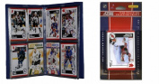 C & I Collectables 2010DEVILSTS NHL New Jersey Devils Licenced 2010 Score Team Set and Storage Album