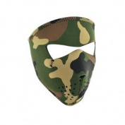 Balboa WNFMS118 Neoprene Face Mask Small Woodland Camouflage