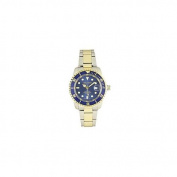 Del Mar 50119 Mens 200 Metre Sport Watch Two Tone with Blue Dial