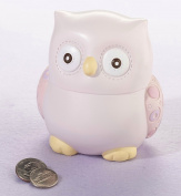 Lillian Rose 24BK210 OP Owl Coin Bank - Pink