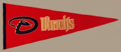 Arizona Diamondbacks Official MLB 80cm x 33cm Wool Traditions Pennant by Winning Streak